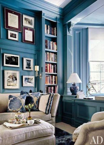 plavi interijeri