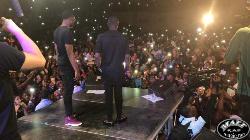 La présence de Sidiki Diabaté au palais des sports dans le concert de Dadju [Vidéo]