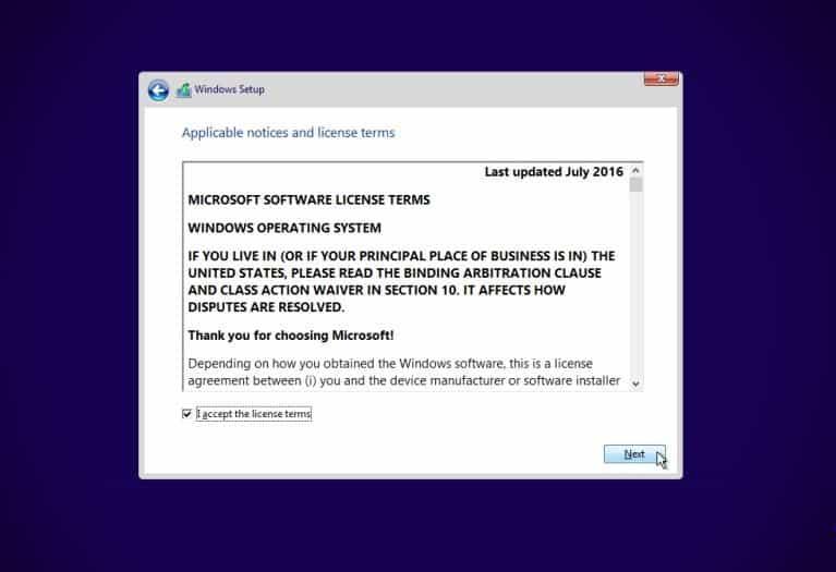 Cara Instal Ulang Windows 10 Step 8