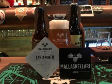 Mallaskellari Beer Gift Cards