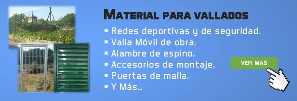 Materiales de vallados
