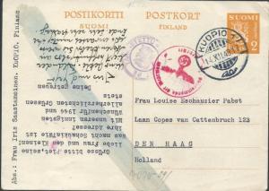 109_1943_2mk_ehiokortti_Hollantiin_o-43_sensuurit_erikoistaksa