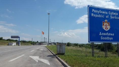 Letztes Foto vor der Grenze