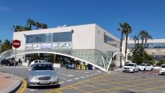 Eingang zum Hafenterminal Ceuta