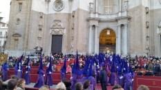 Prozession zur Kathedrale