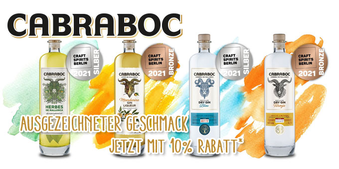 Gewinner Destillerie Cabraboc – 10%* auf alles von Cabraboc