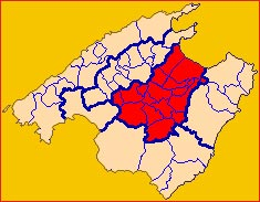 Comarques - Plà de Mallorca
