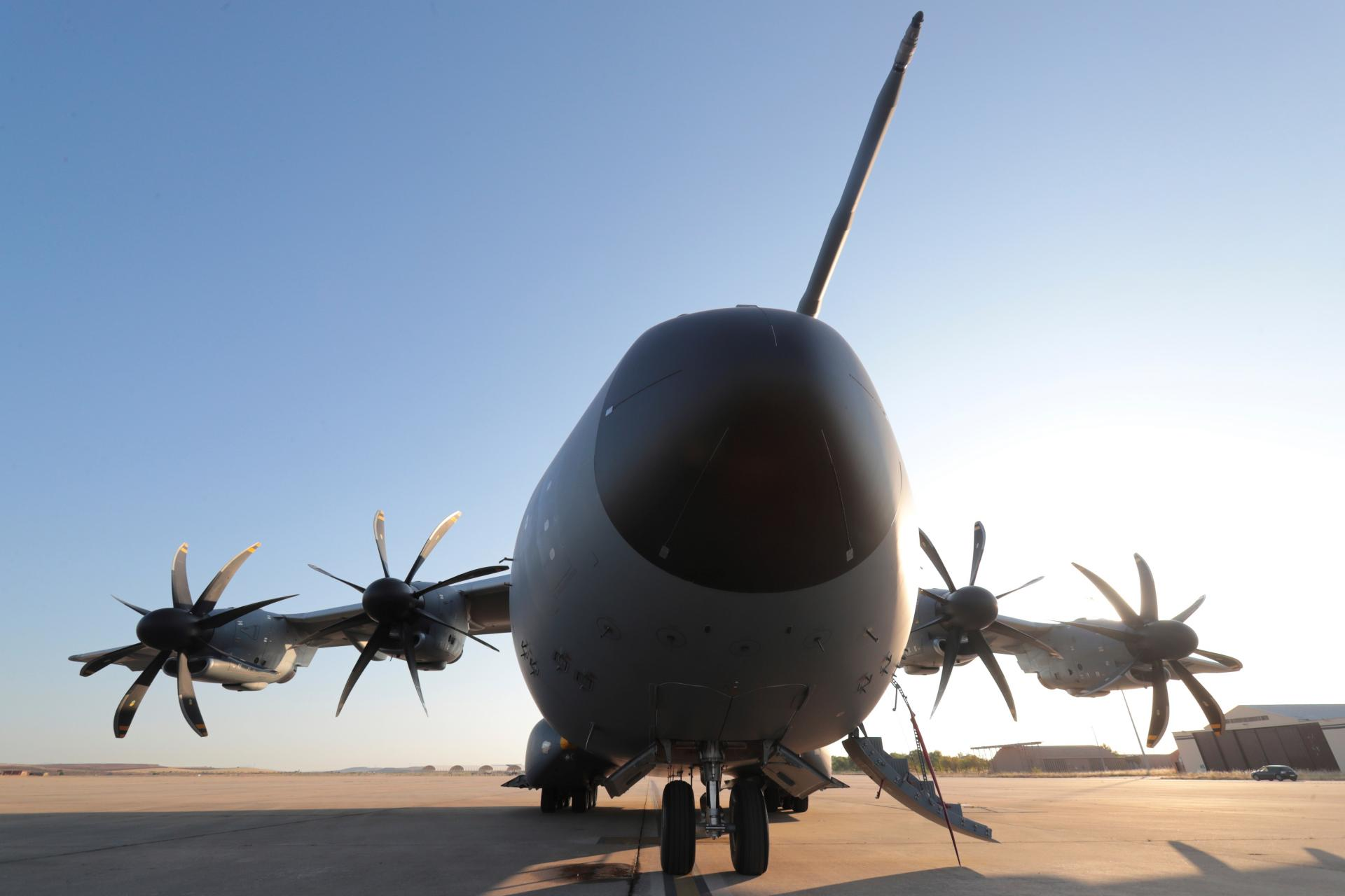A400M-Flugzeug der spanischen Luftwaffe