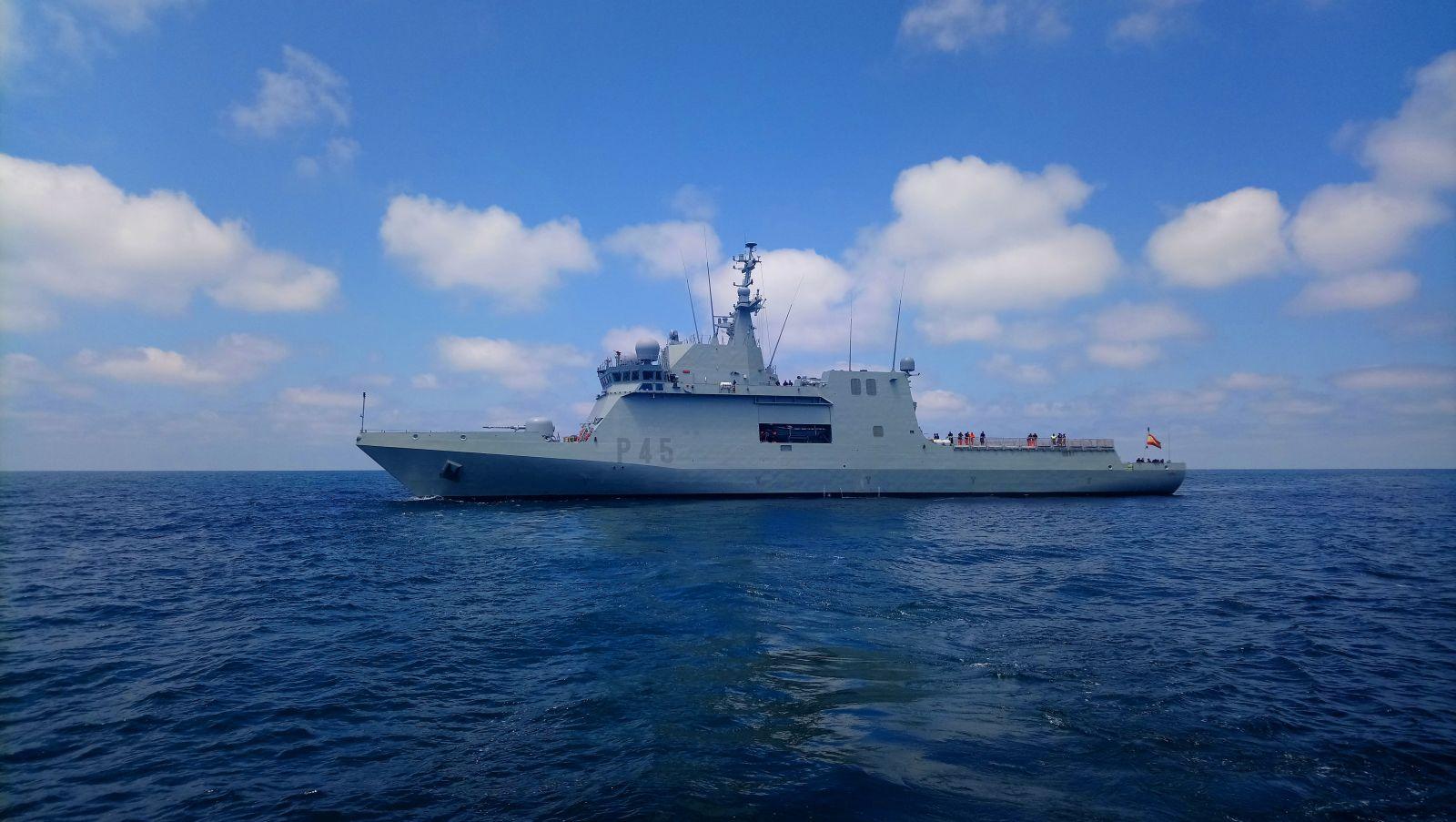 """Die """"Audaz"""" der spanischen Marine"""