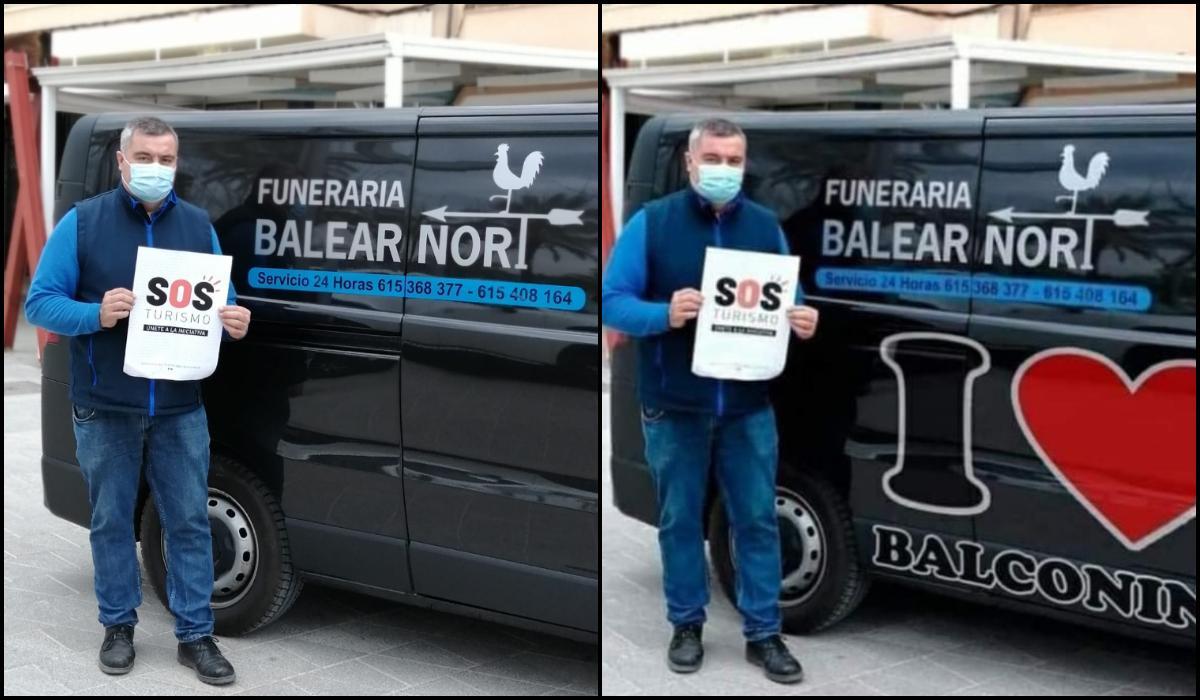 """Bestattungsunternehmens aus Alcúdia Opfer einer """"Fake-News"""""""