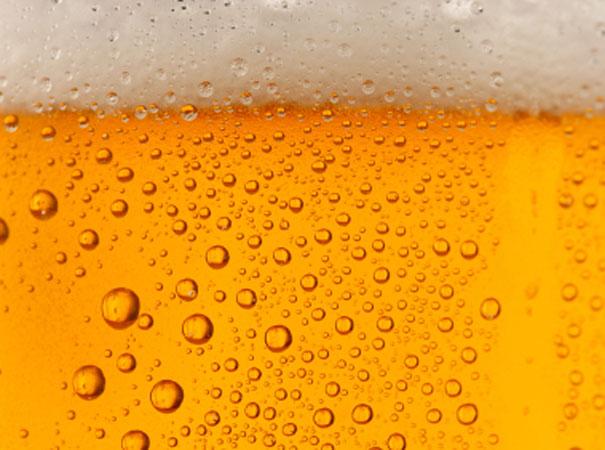 Ein erfrischendes Bier