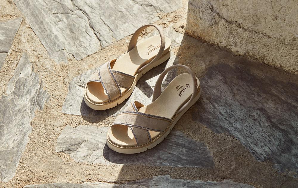 Sandalen von Castell Massanet