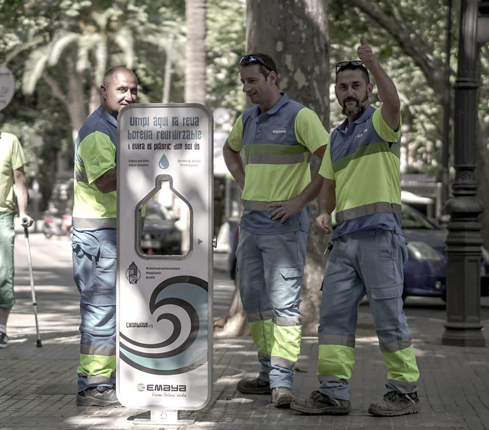 Cleanwave sorgt für sauberes und kostenloses Wasser