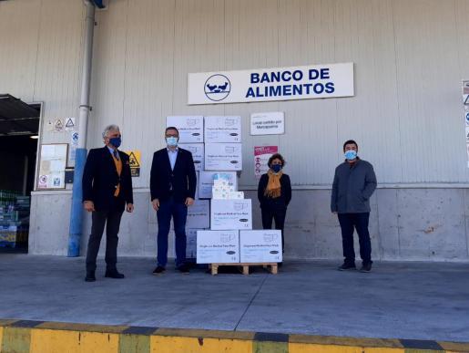 Cort spendet 50.000 Masken an die Banco de Alimentos