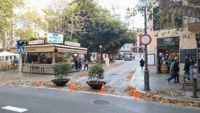 Verkehrsveränderungen in den Gebieten Calle Unió und Plaça del Mercat