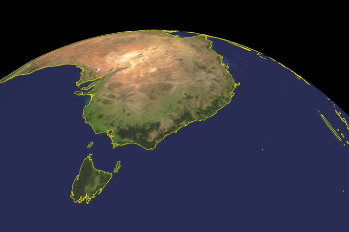 Rauch von Australiens großen Feuern umkreist die Welt