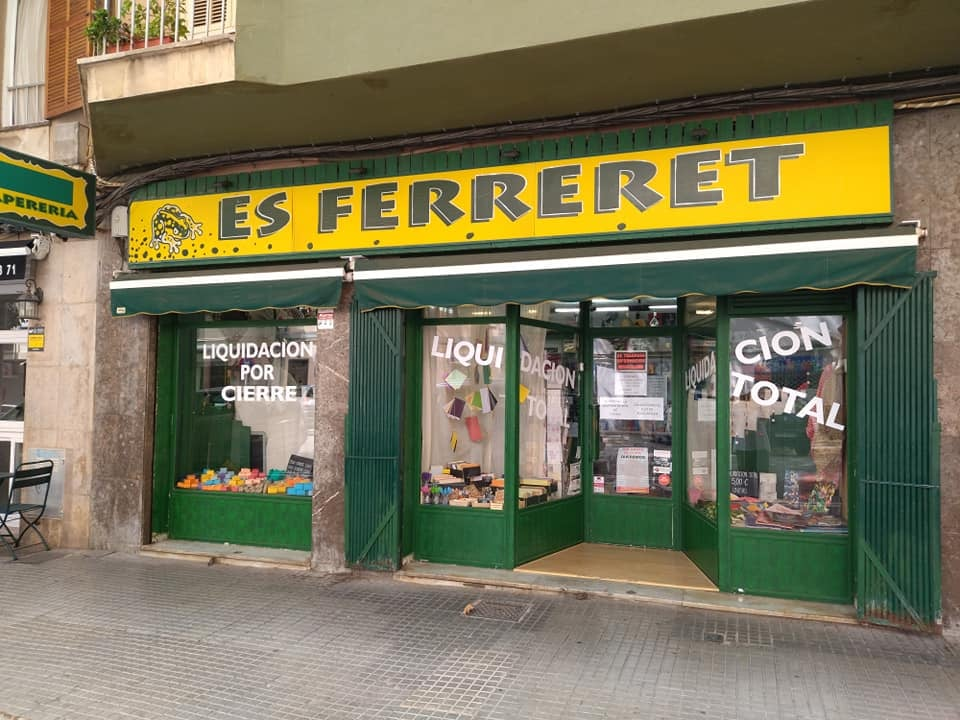 Schreibwarengeschäft Es Ferreret in Pere Garau