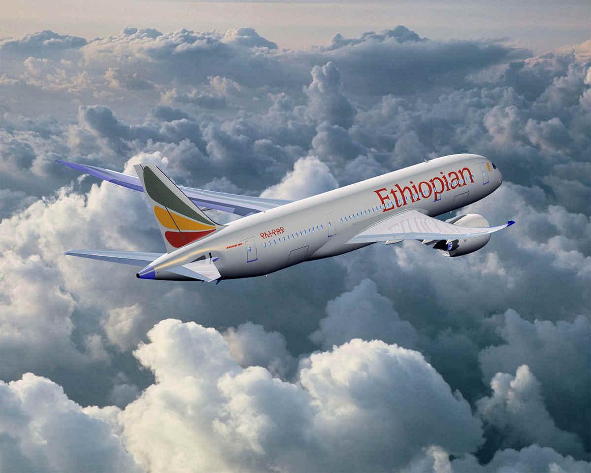 Boeing 737 Max der Airline Ethiopian