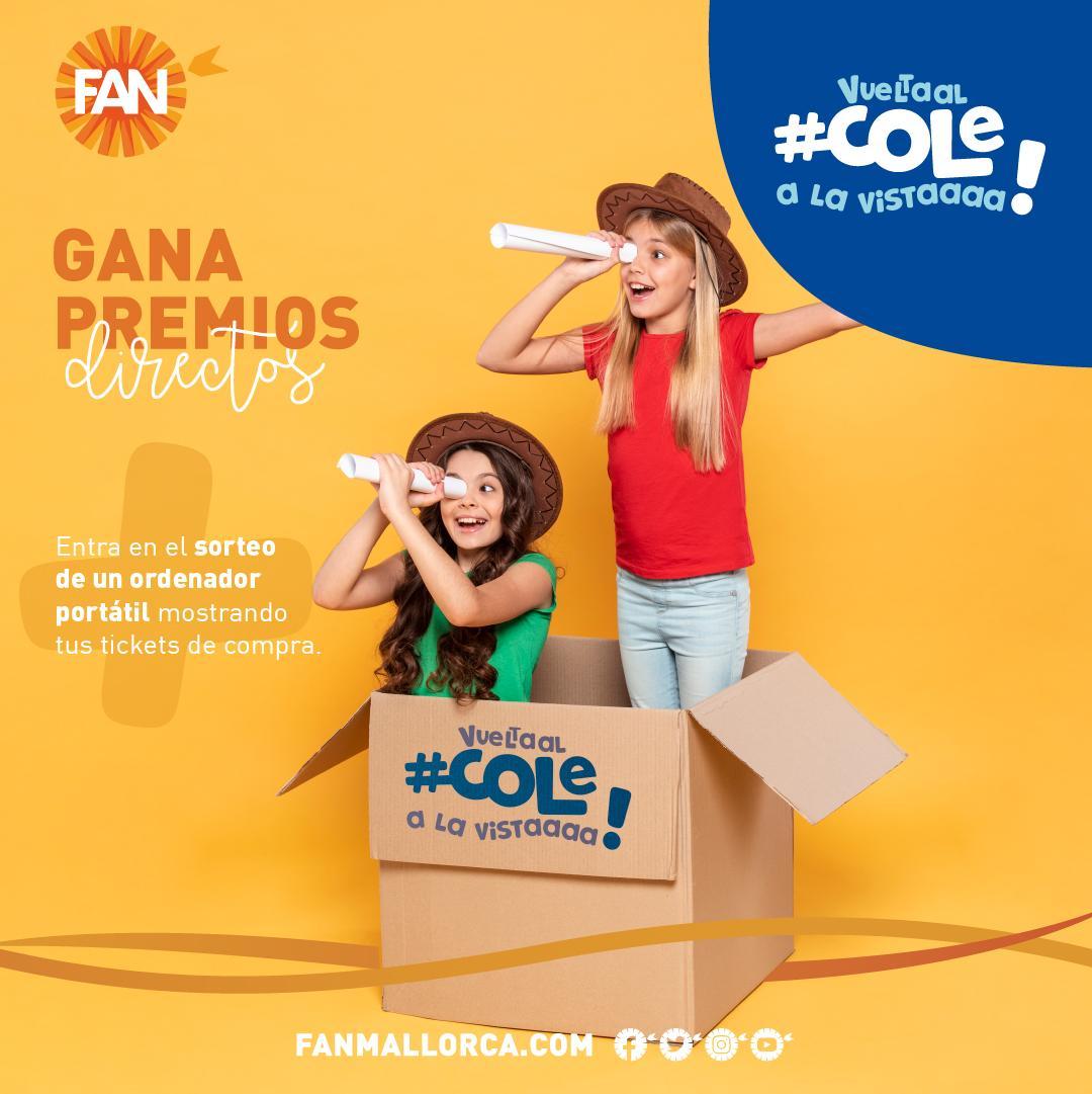 """FAN Mallorca Shopping startet """"vuelve al cole"""" Kampagne"""