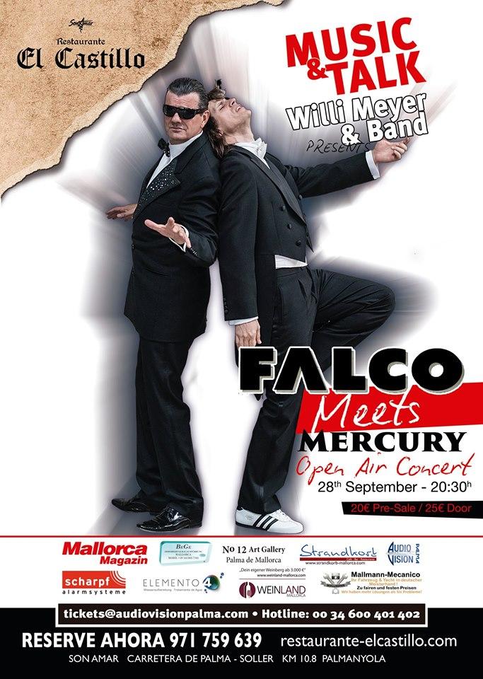 Music&Talk - Open Air - Special Guests: Falco meets Mercury