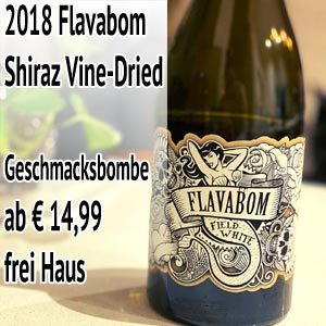 2018 Flavabom Shiraz Vine-Dried