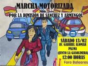 Regierungsdelegation genehmigt die Demonstration von Foro Baleares