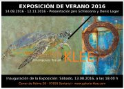 """""""Ocean Art"""" in der Galeria Klee, Santanyi"""