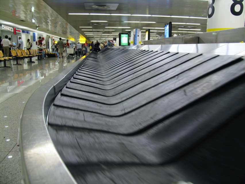 Gepäckband am Flughafen Palma (PMI)