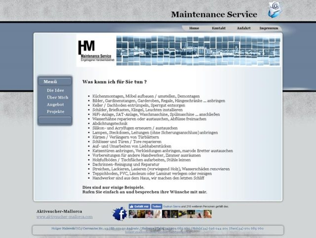 HM Maintenance Service
