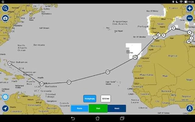 Katamaran-Überführung von Tunesien nach Miami