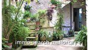 Historisches Stadthaus mit Dachterrasse und Patio auf Mallorca
