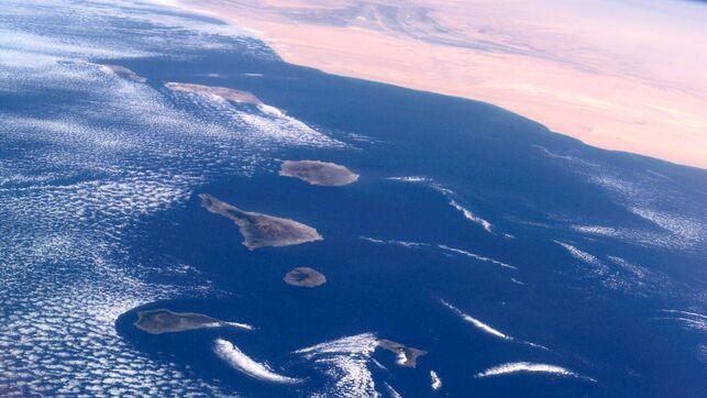 Luftaufnahme der Kanarischen Inseln - Foto: NASA
