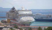 Palma, einer der am stärksten durch Kreuzfahrtschiffe verschmutzten Häfen Europas