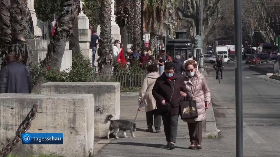 Lockdown in Italien