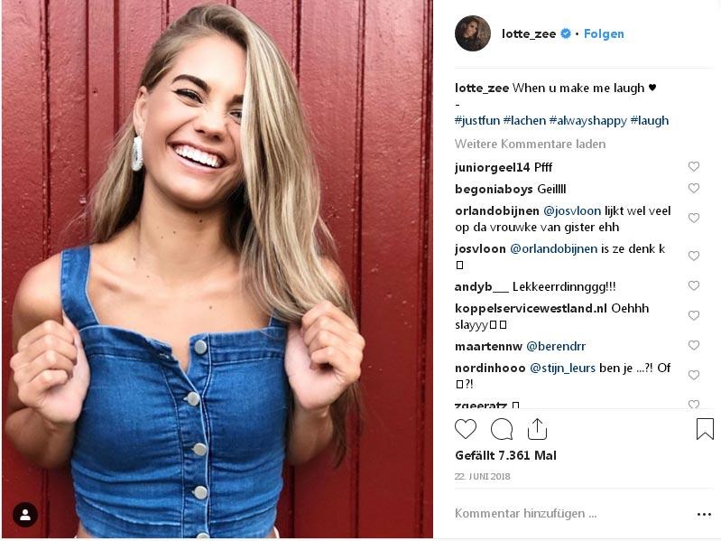 Bestürzung über den Tod von Miss Teen Universe Lotte van der Zee