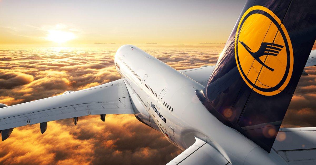 Flugzeug der Airline Lufthansa
