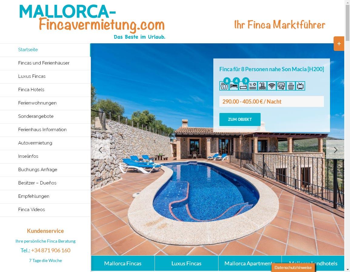 Mallorca Fincavermietung