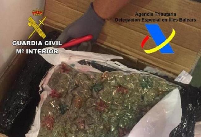 Marihuana in Paketen