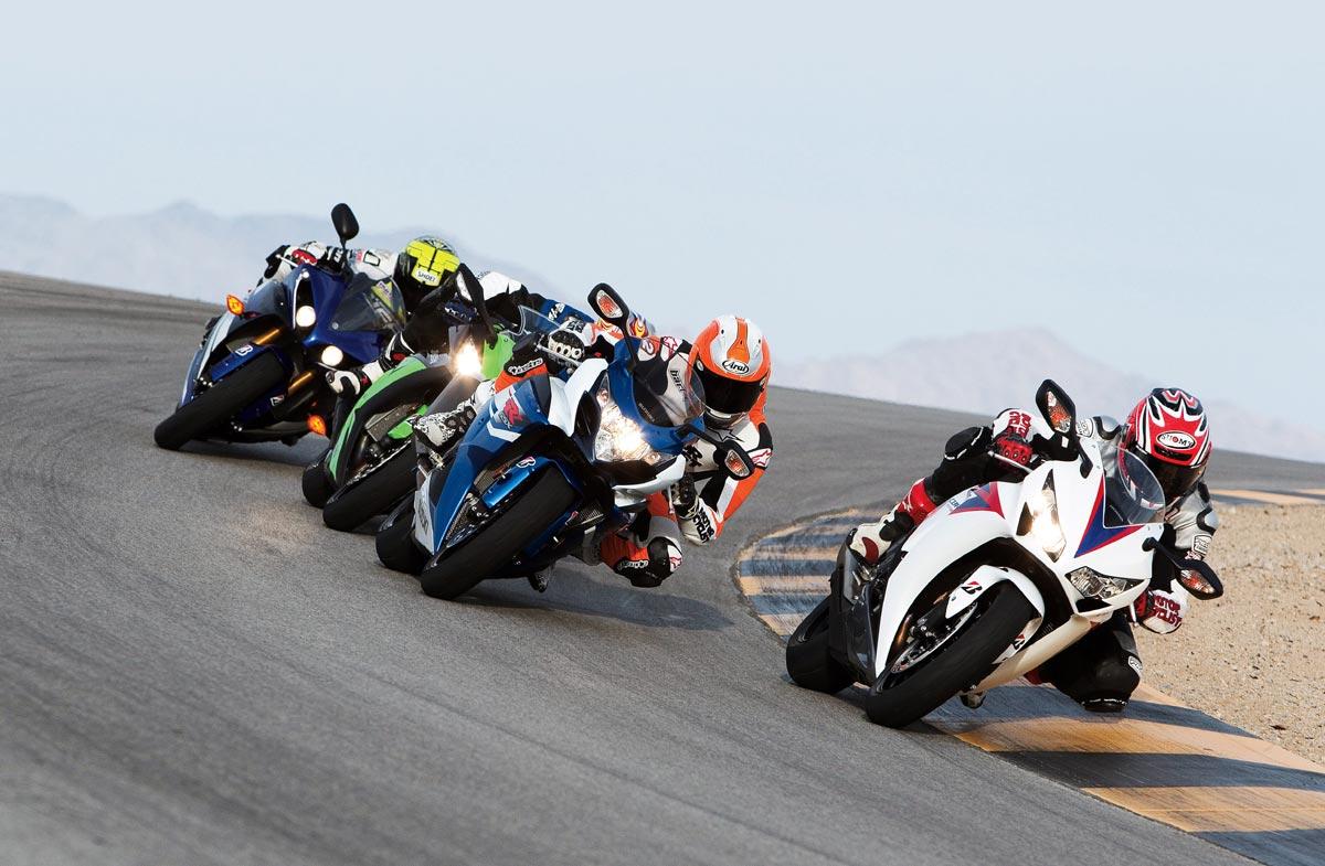 Motorradfahrer auf Mallorca