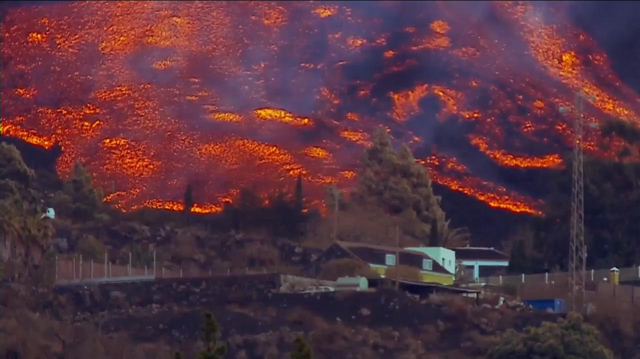 La Palma: Neuer Eruptionsschlund