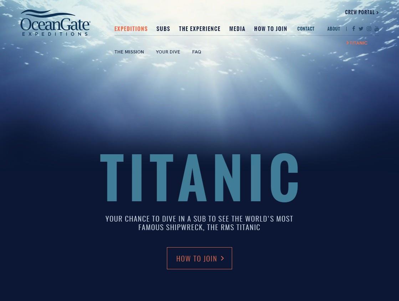 OceanGate Expedition Titanic