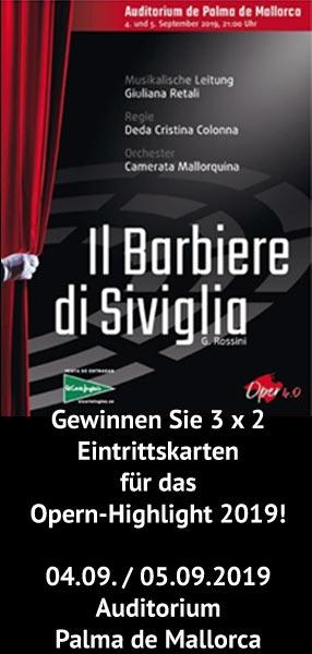 Gewinnen Sie mit uns 3 x 2 Eintrittskarten zur Oper