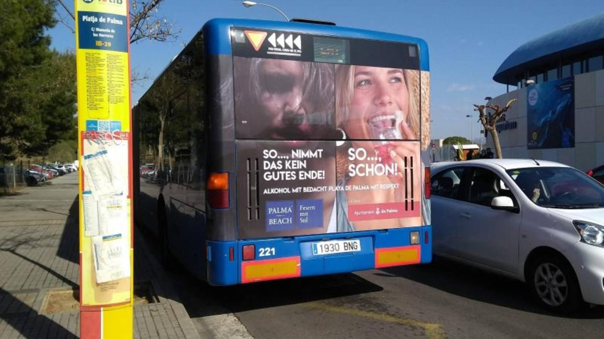 Bus der EMT in Palma de Mallorca