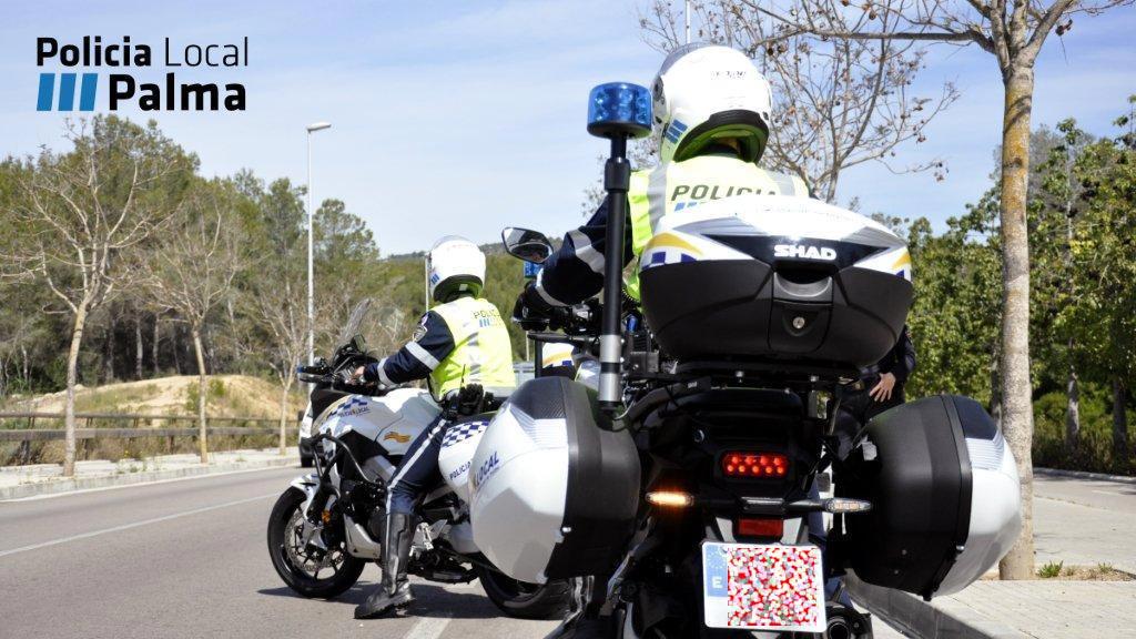 Policia Local de Palma im Einsatz