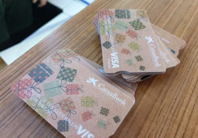 Prepaid-Karten des Consell