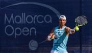 Rafa Nadal trainiert bei den Mallorca Open