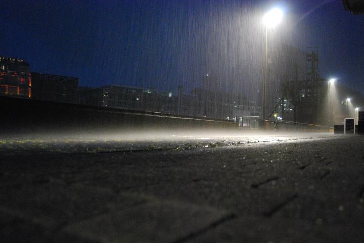 Heftiger Regen auf Mallorca
