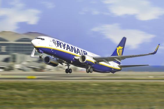 Flugzeug der Airline RyanAir