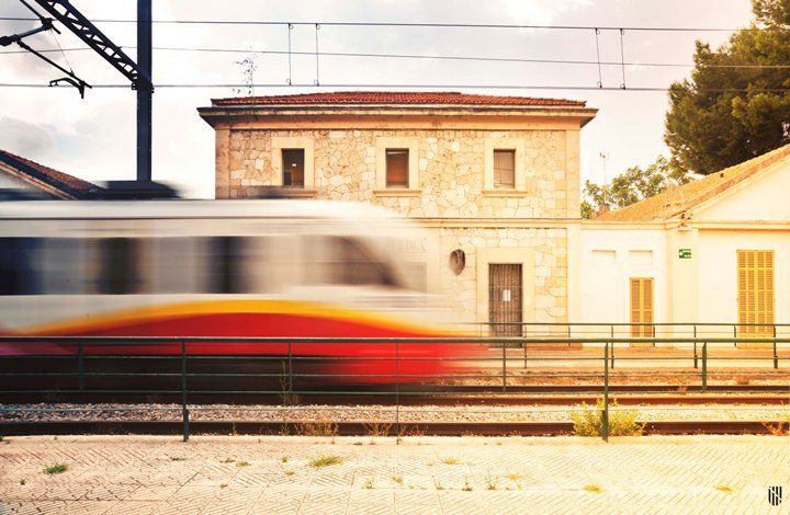Zug der SFM auf Mallorca