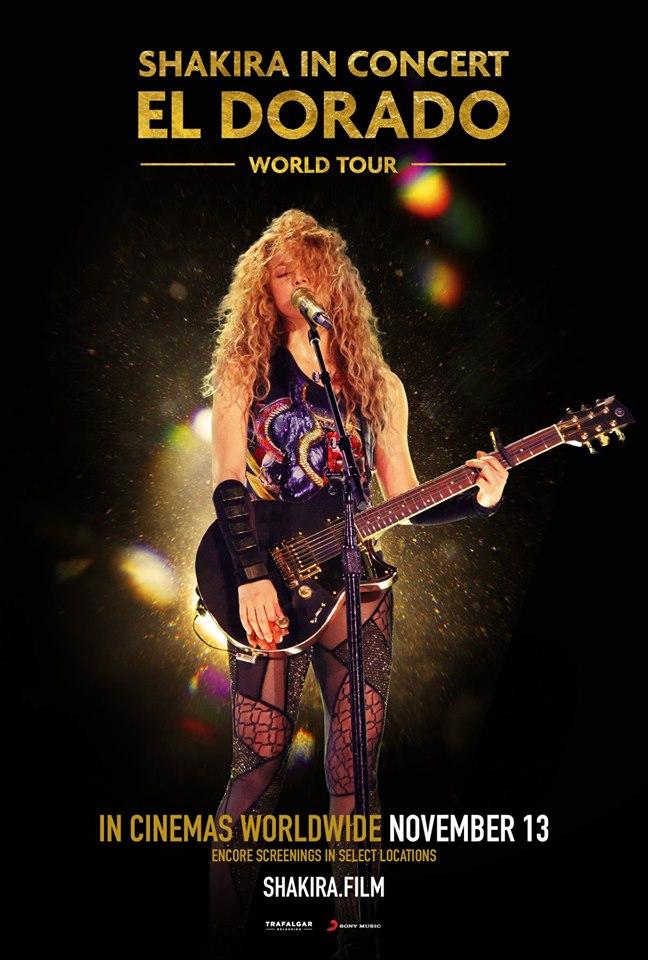 """Shakira - """"El Dorado World Tour"""""""
